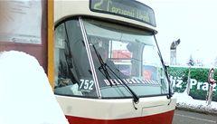 Řidič tramvaje podpořil Dělnickou stranu. Hrozí mu výpověď