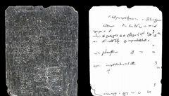 Počítače dešifrují kamenný