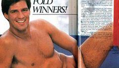 Senátor, který střídá Teda Kennedyho, pózoval před lety úplně nahý