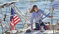 Šestnáctiletá Američanka chce na lodi obeplout svět