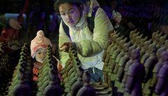 V Číně otevřeli park čokoládových divů, ochutnávat se nesmí