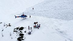 Pod lavinou v Norsku zemřelo pět lidí, zachránil se jeden
