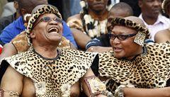 Jihoafrický prezident Zuma má dvacet dětí a tři manželky