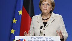 Německo schválilo příspěvek pro stabilizaci eurozóny