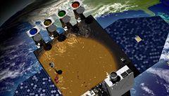 Slunce začala zkoumat specializovaná družice