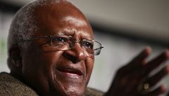 Další 'genetickou celebritou' je jihoafrický biskup Tutu
