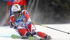 Bank dosáhl životního úspěchu ve slalomu, ve Francii dojel sedmý