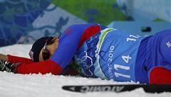 Vyčerpaný finišman Koukal: Věděl jsem, že musím tu medaili urvat