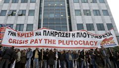 Odboráři by se měli mírnit, úspory jsou podle většiny Řeků potřeba