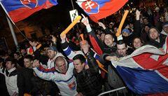 VIDEO: Jak Slováci fandili svému týmu při zápase s Kanadou