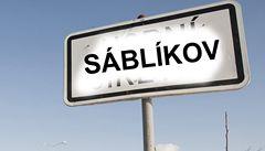 Velký Osek, bydliště rychlobruslařské královny, někdo přejmenoval na Sáblíkov