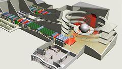 Vědci představili projekt termojaderné fúze řízené lasery