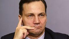 Putinovo dělení Ukrajiny? Sikorski spáchal 'diplomatickou sebevraždu'
