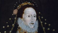 Restaurátoři našli na portrétu královny Alžběty I. ukrytého hada