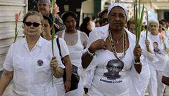 Kuba zatkla desítky disidentek jen pár hodin před Obamovým příletem