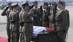 Pohřeb Kaczynského bude v neděli, Klaus případně pojede vlakem