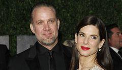 Sandra Bullocková požádala o rozvod, kvůli nevěře manžela