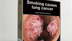 V Austrálii zmizí z cigaret logo i značka. Nahradí je obrázky znetvoření