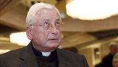 Německý biskup nabídl kvůli týrání dětí rezignaci