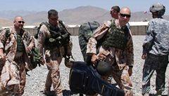 Landa v Afghánistánu musel zrušit koncert, na základnu se střílelo
