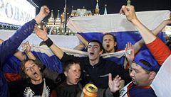 Medveděv: Jsem na kluky pyšný