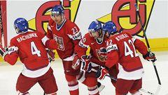 Čeští hokejisté začnou osmifinále MS utkáním se Švýcarskem