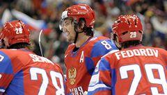 Rusové si do čtvrtfinále vybrali Kanadu, Češi se utkají s Finskem