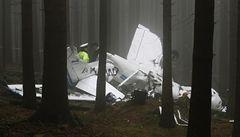 Na Prachaticku se zřítilo letadlo Cessna, jeden mrtvý