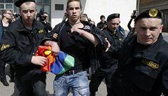 Běloruská policie v Minsku zakročila proti pochodu homosexuálů