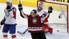 Lotyši pomohli ve skupině Česku, Nory porazili 5:0