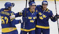Švédsko si po výhře nad Kanadou zajistilo postup do čtvrtfinále