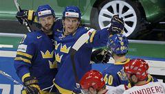 V severském derby zdolali Švédové dánský zázrak na ledě 4:2