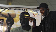 Nejrychlejší muž planety Usain Bolt má oběd jako snídani