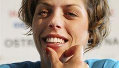 Usměvavá výškařka Vlašičová slíbila Ostravě dobrý výkon za lepší počasí