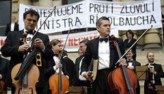 Nejsme trafika pana Kasíka, protestovala Česká filharmonie