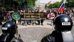 Setkání homosexuálů v Bratislavě napadli neonacisté