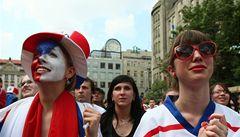 Fanoušci na Václaváku českému týmu nevěřili. Pak plakali štěstím