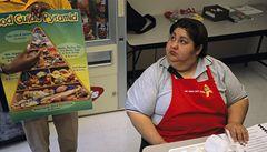 USA válčí s obezitou. Pomocí houbových hamburgerů