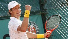 Berdych smetl Isnera a v osmifinále French Open vyzve Murrayho