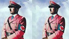 Růžový Hitler v reklamě pro mládež. Sicilané vidí rudě