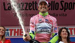 Italský cyklista Ivan Basso vyhrál podruhé v kariéře Giro d'Italia