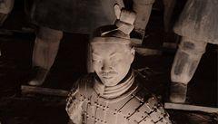 Čínští archeologové obnovili terakotové bojovníky