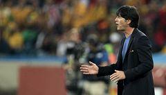 Trenér Německa Löw: Brazilci hrají tvrdě, snad rozhodčí najde správný metr