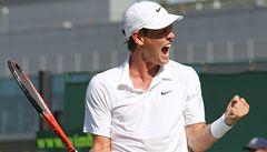 Čtvrtfinále snů ve Wimbledonu: Berdych porazil Brandse a čeká jej Federer