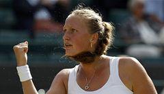 Wimbledonský sen: Kvitová utekla z 5 mečbolů a je v semifinále