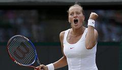 Byla jsem strašně dojatá, hlesla po čtvrtfinále Wimbledonu Kvitová
