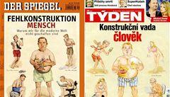 Obálka Týdne se nápadně podobá Spiegelu