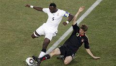 Německo porazilo Ghanu 1:0, i přesto se Afričané v osmifinále objeví
