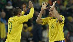 Brazilci ve velice emotivním zápase zdolali Pobřeží slonoviny 3:1