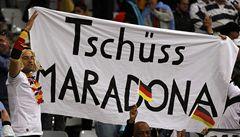 Argentinská potupa: Němci nadělili čtyři góly Maradonovi a spol.